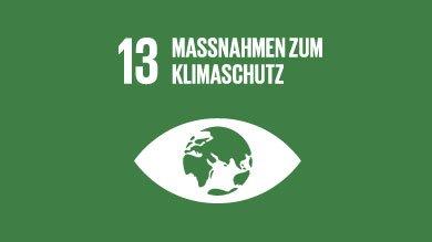 Die XU University steht hinter den Zielen für eine nachhaltige Entwicklung der UN, Vereinten Nationen. Sustainable Development Goal 13 der United Nations - Maßnahmen für Klimaschutz