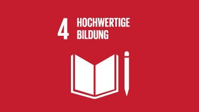 Die XU University steht hinter den Zielen für eine nachhaltige Entwicklung der UN, Vereinten Nationen. Sustainable Development Goal 4 der United Nations - Hochwertige Bildung