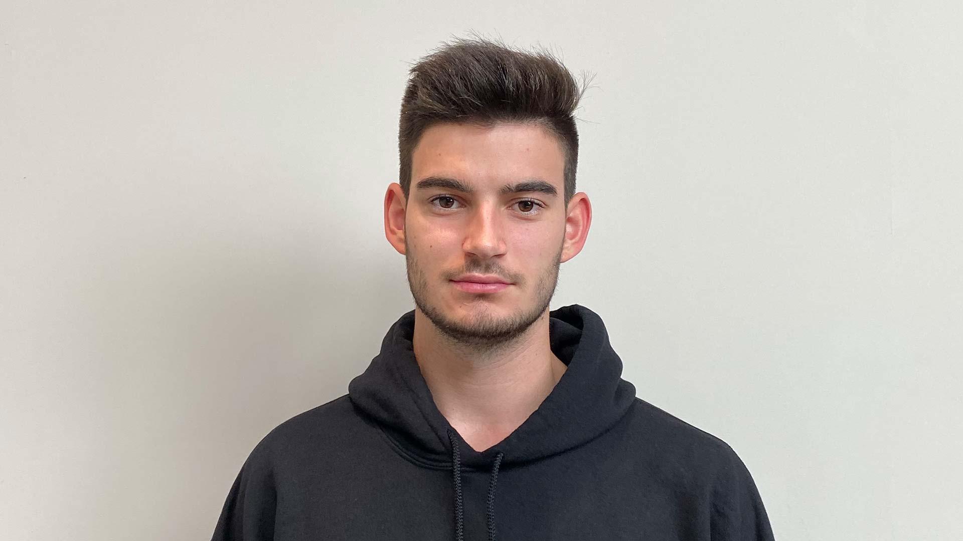 Student Ronan Tretschok